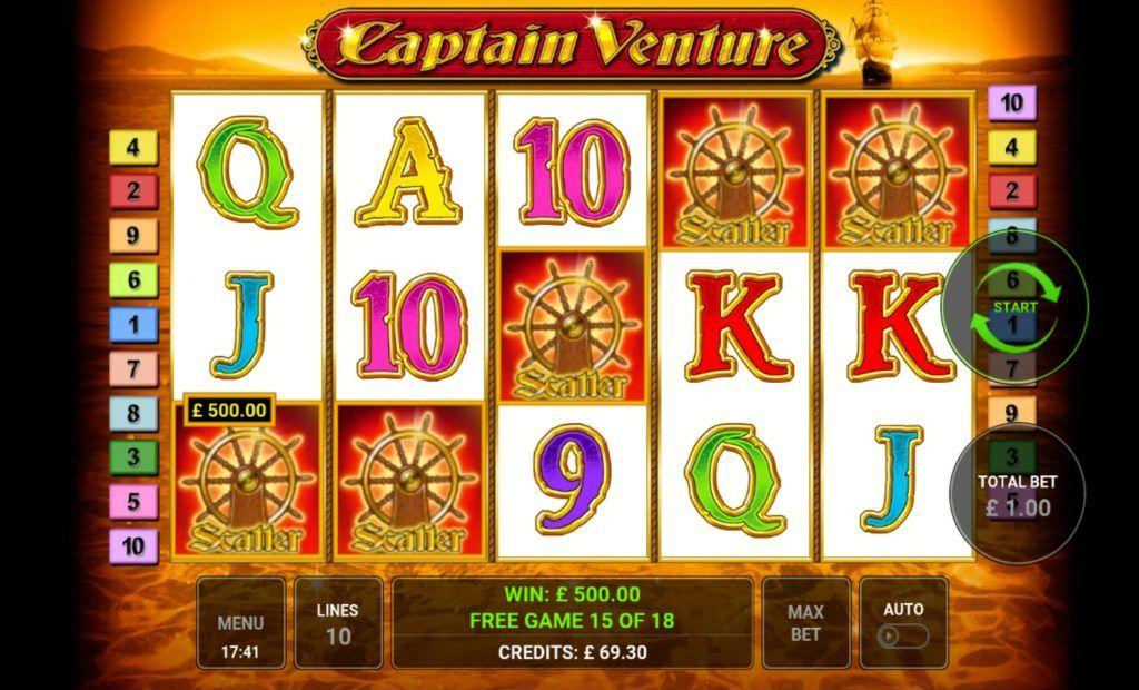 Captain Venture 5 Scatter Bob! Multiplier 849x💰 in 2020