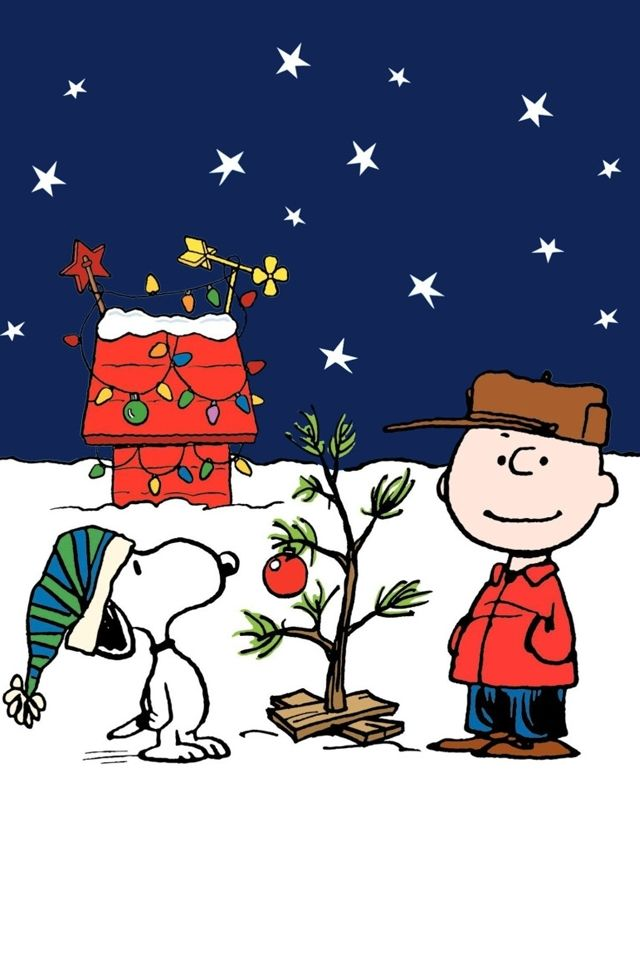 60 Beautiful Christmas Iphone Wallpapers Free To Download Snoopy Christmas Charlie Brown Christmas Tree Peanuts Christmas