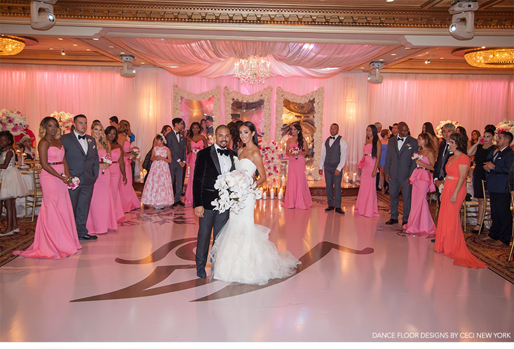 Our Muse - Feminine Pink Wedding in Los Angeles: Vanessa & Jason ...