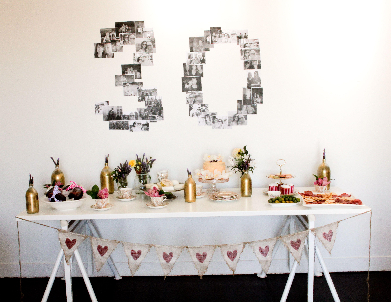 30th Birthday party...good idea for Celia's birthday.