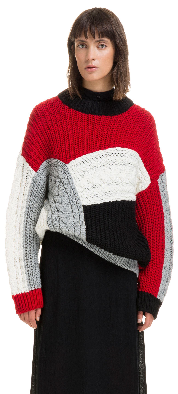 5ef9f99c5 Chunky multicoloured jumper