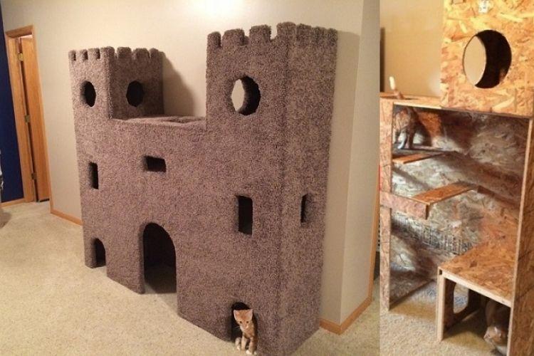 quand le chat est roi un tutoriel photo pour vous aider fabriquer son ch teau arbres. Black Bedroom Furniture Sets. Home Design Ideas