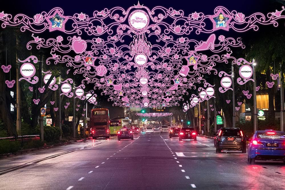 Disney Christmas Light Up In Orchard Road Largest In Southeast Asia From Nov 10 2018 To Jan 1 2019 Christmas Lights Nurse Christmas Orchard Road Singapore