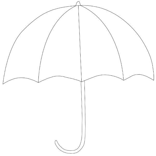 Umbrella Template  sz