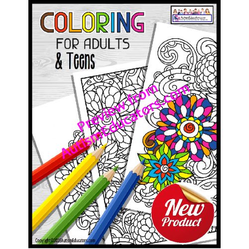 Occupational Therapy Coloring Printables For Teens And Adults Free Printable Coloring Free Printable Coloring Pages Coloring Pages
