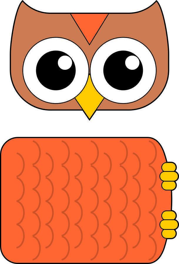 Paper Bag Owl Pattern Free Kids Crafts Lulu Pinterest Owl