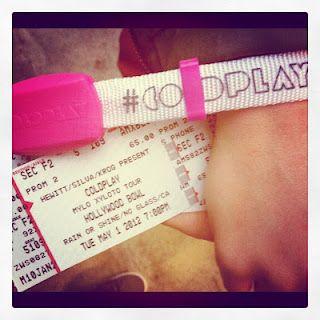 Coldplay Mylo Xyloto concert