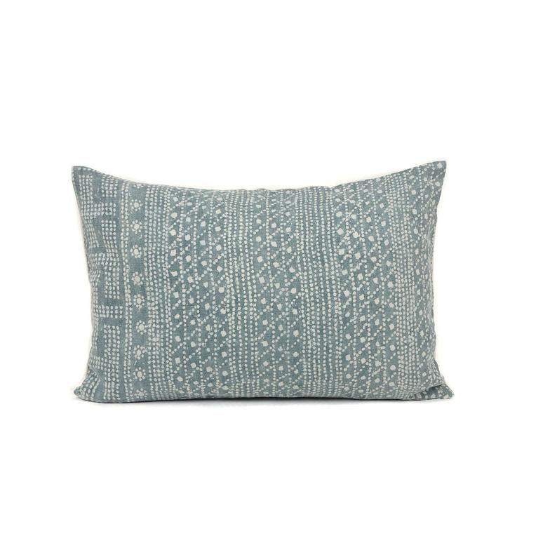 Green Batik Designer Pillow Cover Boho Green Pillow Modern Etsy Pillow Cover Design Designer Pillow Batik Pillow