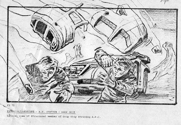 Sketching Out \u0027Psycho\u0027 Production Storyboards From 15 Beloved Films - film storyboards