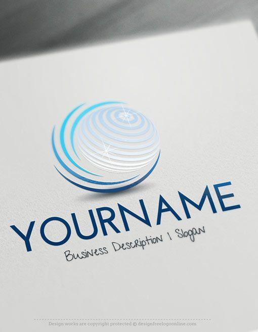 BEST 3D LOGO DESIGNS | Globe logo, 3d logo design, Business logo ...
