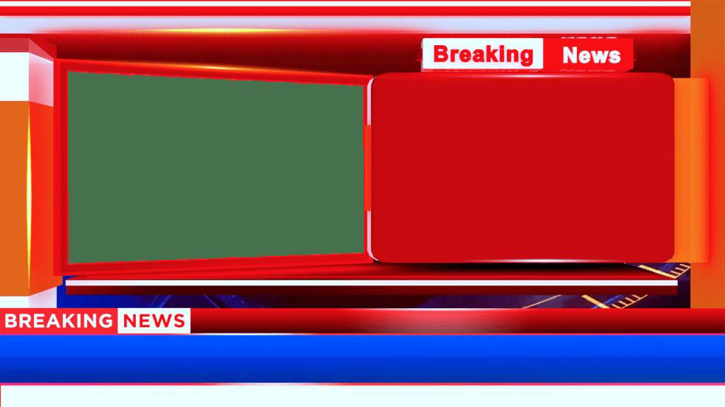 Breaking News Bumper Adobe Premiere Template, Download Png