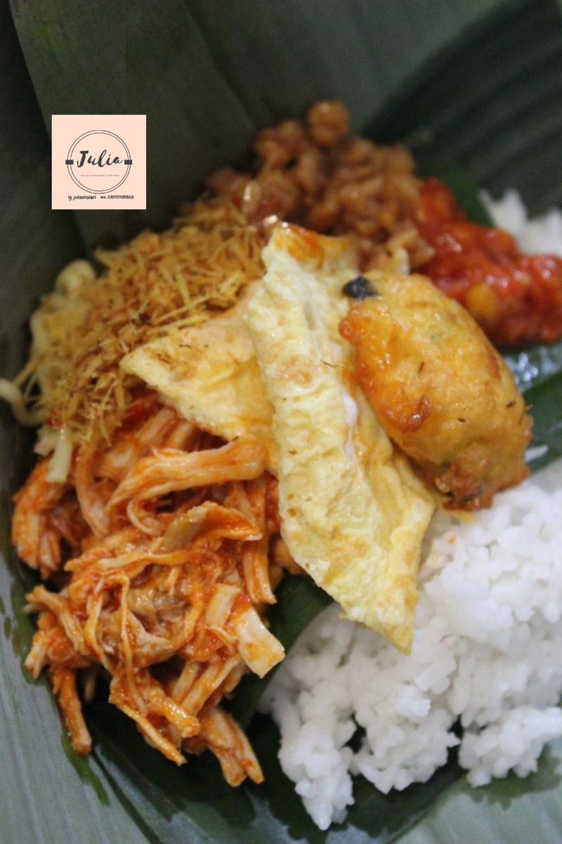 Nasi Jinggo Breakfast On The Go Food Munchies