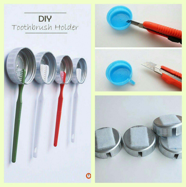 Diy Toothbrush Holder Diy Toothbrush Diy Toothbrush Holder Toothbrush Holder Diy