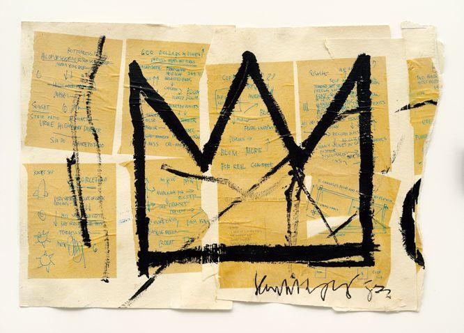 ジャン=ミシェル・バスキア:知られざるノート』展