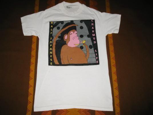 1988 Half Japanese Charmed Life Vintage T Shirt Jad Fair Half Japanese Vintage Tshirts Shirts