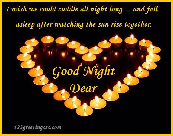 Romantic Good Night Messages Images Say Good Night To Your Lover