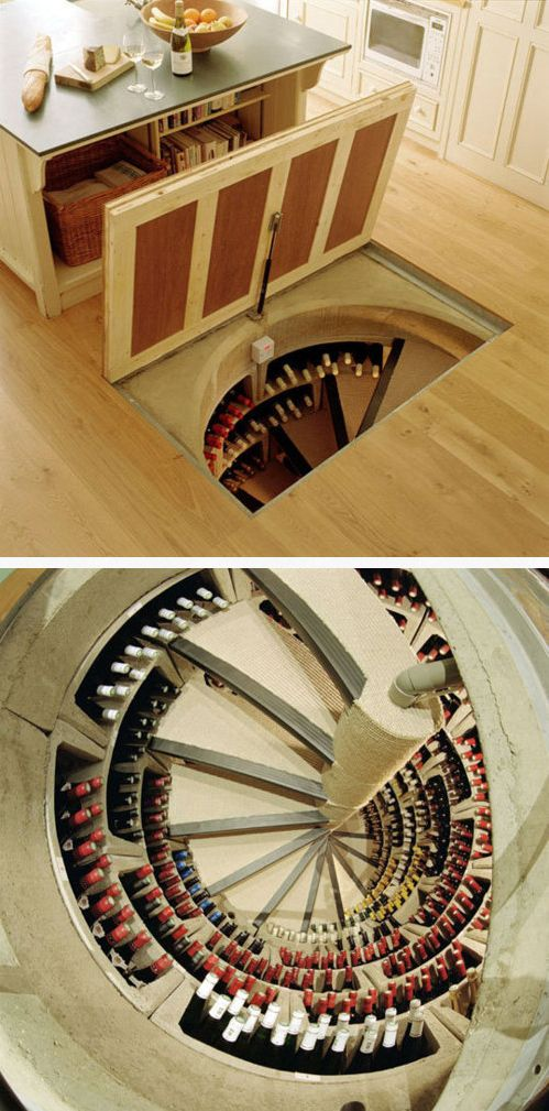 In Floor Wine Cellar Safras Says