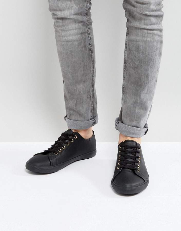 ASOS DESIGN Lace Up Shoes In Faux Leather ege9fEwE