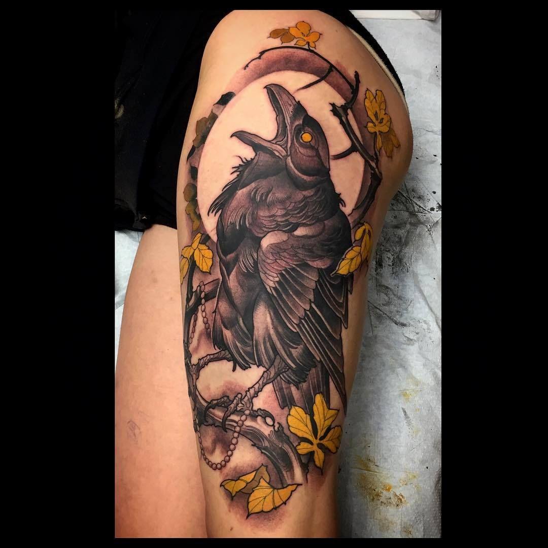 Iron eagle tattoo 25 brilliant cross tattoos for men - Dan Fletcher Electrictattoos