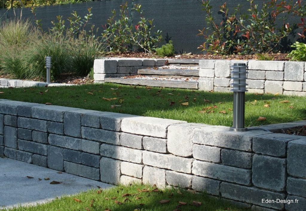 Paysagiste jardin moderne muret jardin jardin for Paysagiste amenagement exterieur