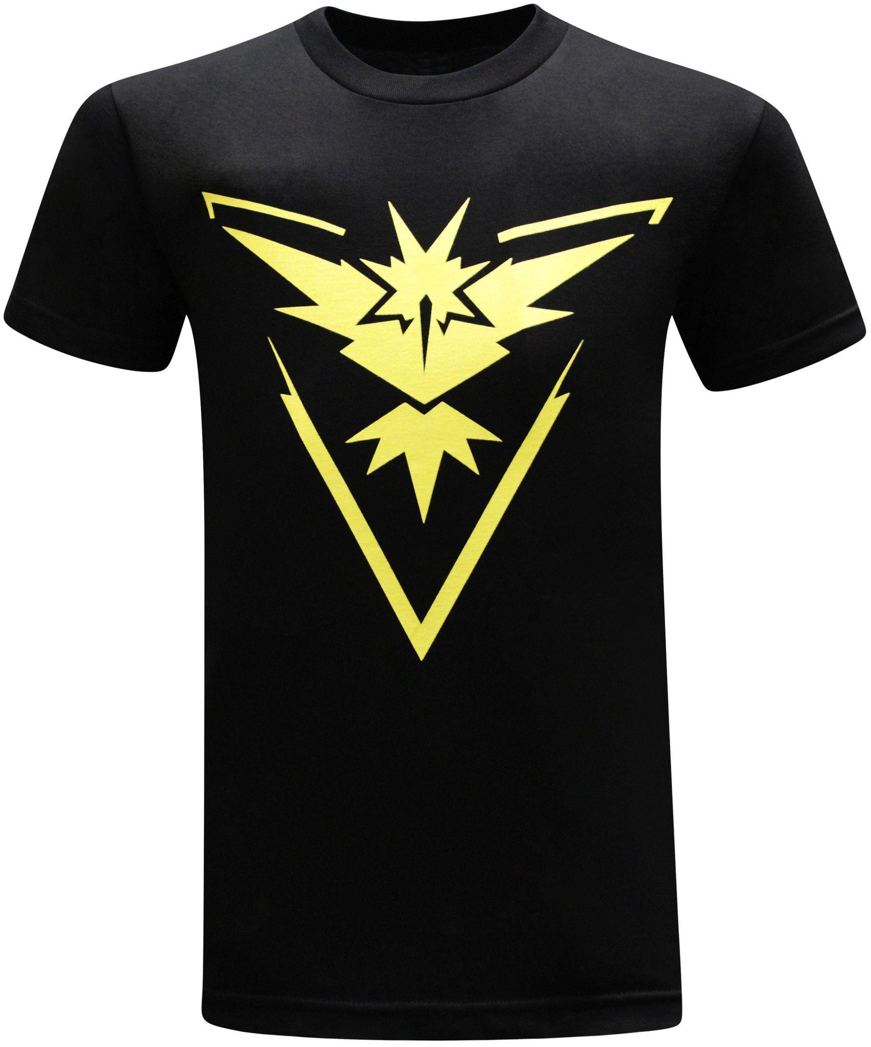 795981d26 New Arrive Casual Tees Women/Men Fashio Clothing Jersey Summer 3D Peinted  Tops Pokemon Go Team Instinct T-Shirt Outfits | Team Instinct
