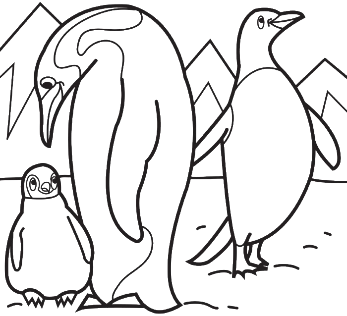 antartica coloring pages - photo#15