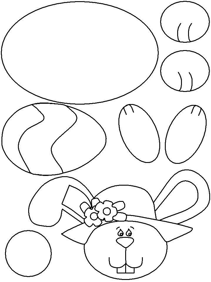 last minute osterdeko 34 ostern bilder und vorlagen kostenlos zum ausdrucken easter crafts for kidsbunny - Kids Craft Templates
