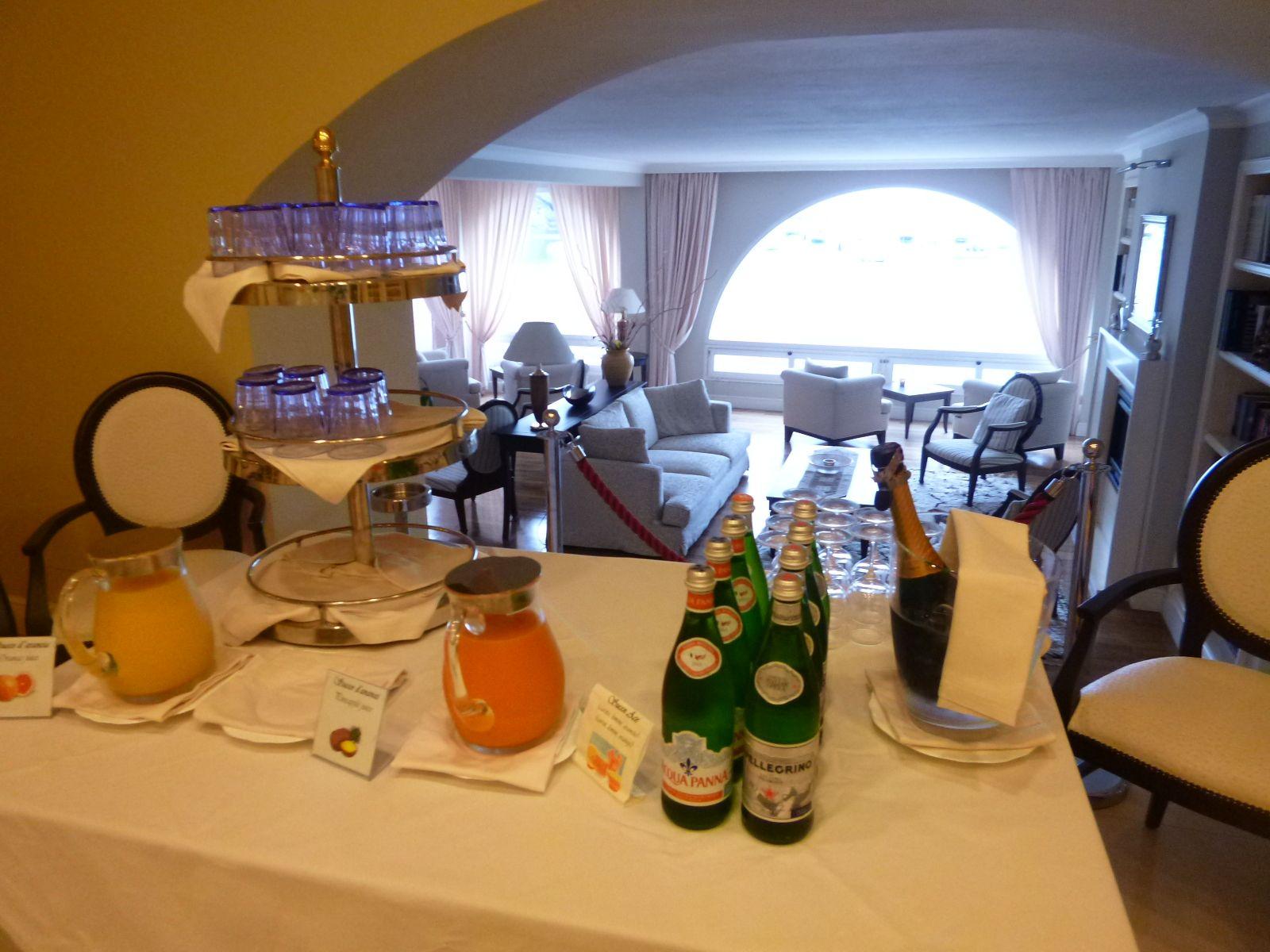 """Prima colazione, """"Hotel Miramare Sestri Levante"""", Sestri Levante Liguria Italia (Luglio)"""