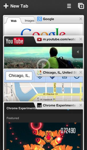 Google Chrome for iOS (Click image to go to our download