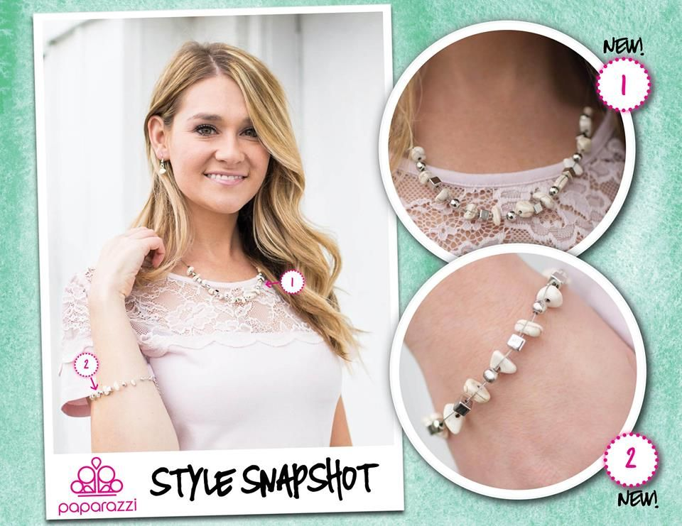 Lovely set!  For just $10.00?!??  My shop is always open www.PaparazziAccessories.com/Michelle