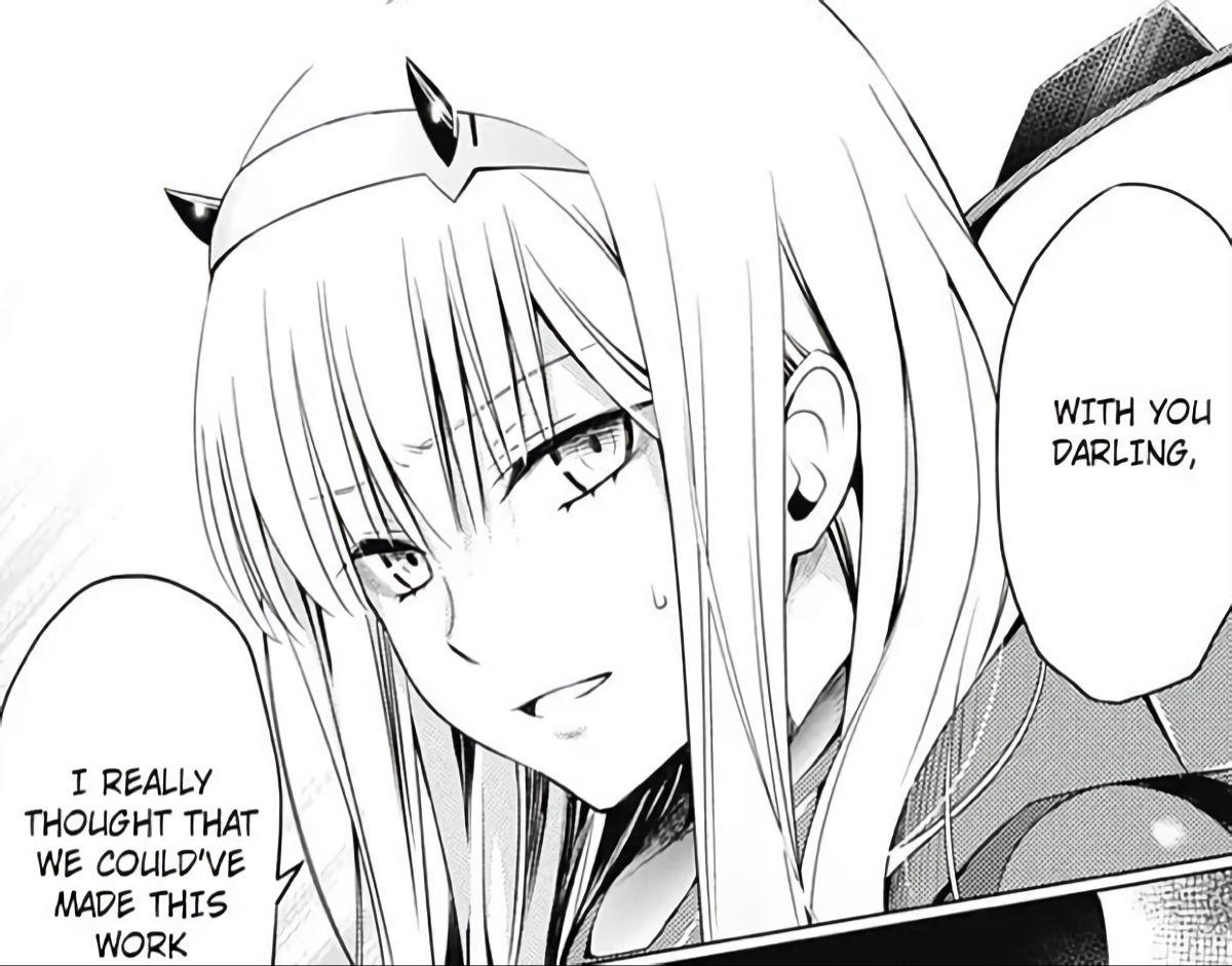 zero two  Anime wall art, Manga covers, Manga pages