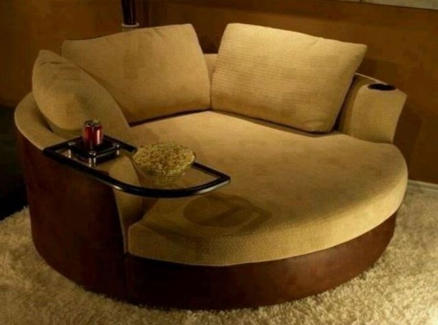 Oversized Swivel Chairs For Living Room Chair Seat Covers Sale Brown With Arm Table Decolover Net