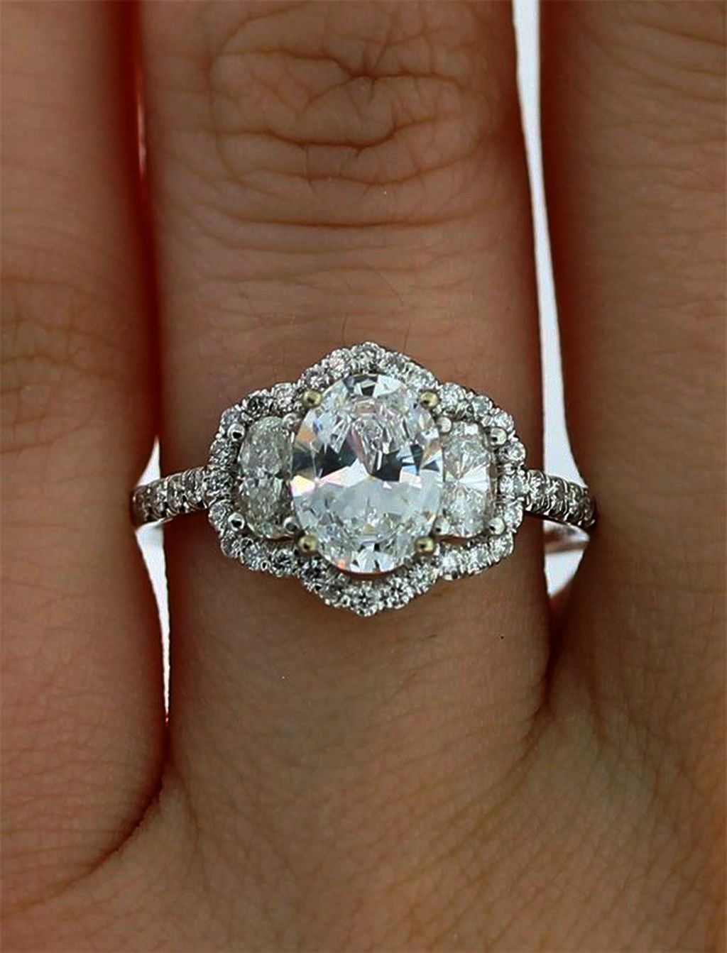 Value Of Used Engagement Ring Antique Engagement Ring Edwardian