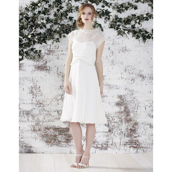 Monsoon Aria Bridal Dress Knee Length Wedding Dress Vintage Style Wedding Dresses Cheap Wedding Dress