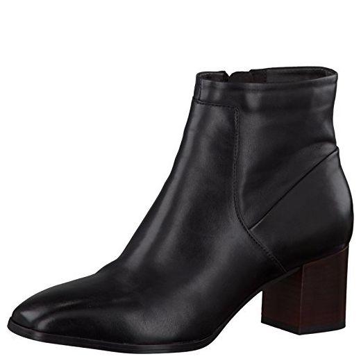 Clarks Kadri Liana Black Leather, Schuhe, Stiefel & Stiefeletten, Stiefeletten, Schwarz, Female, 38