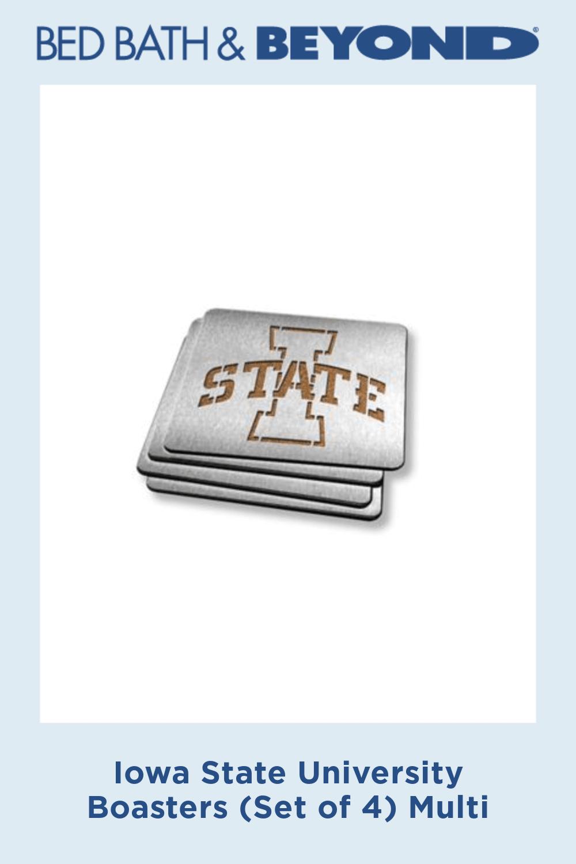 Iowa State University Boasters (Set of 4) Multi #iowastateuniversity Iowa State University Boasters (Set of 4) Multi #iowastateuniversity