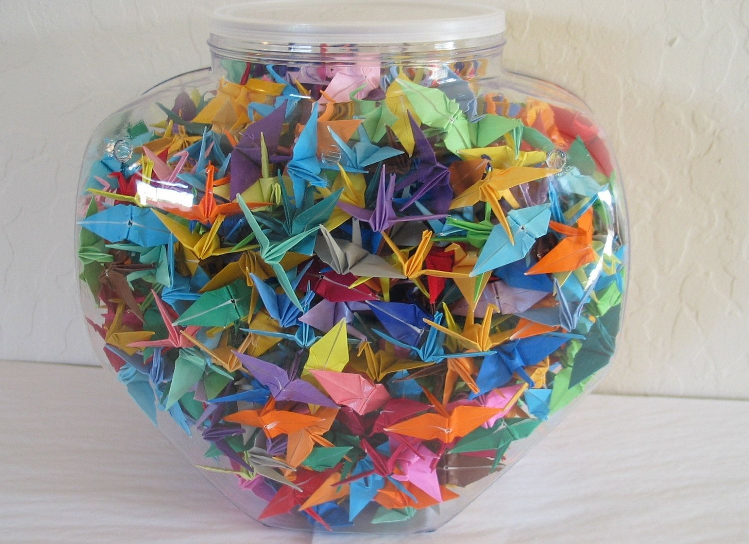 Origami crane crane origami craft ideas - Finally Have An Idea Of How To Display All The Cranes From My Wedding Origami