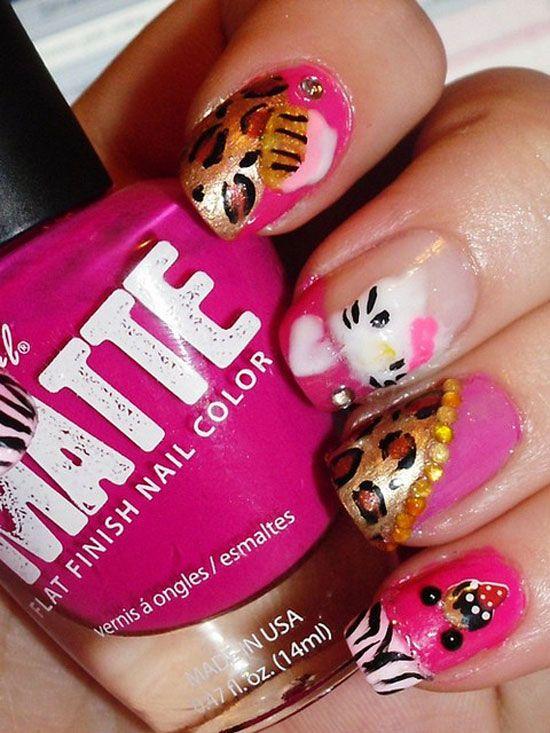 20 Cute Hello Kitty Nail Art Designs Supplies Stickers 13 Nails
