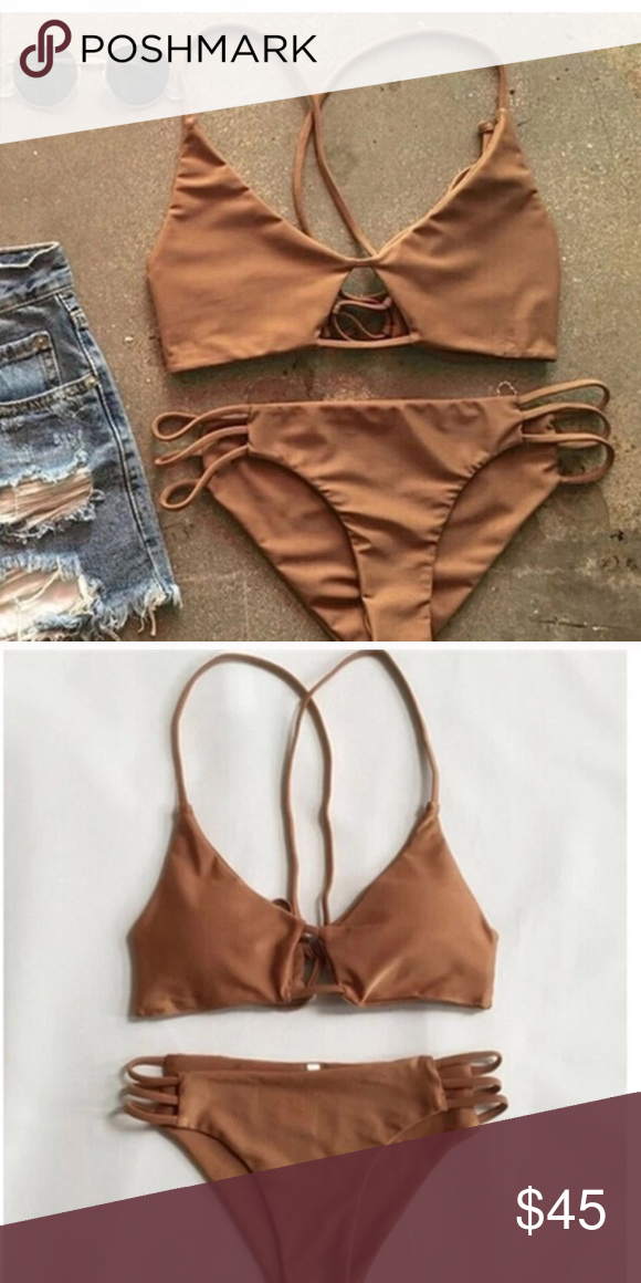 New Bikini New, never worn! I love this but the top is too ...