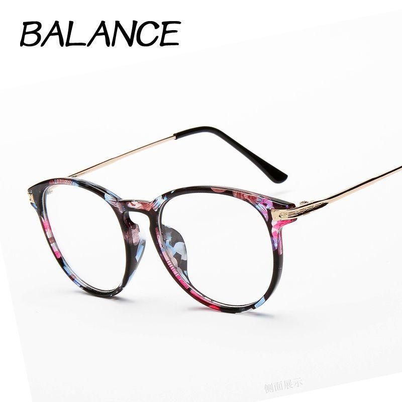 Gafas de lectura Retro Unisex Metal puntos mujeres ojo gafas marco ...