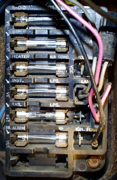 1966 chevelle fuse box chevy chevelle ss pinterest 1966 rh pinterest com 1967 Chevelle Fuse Box Diagram 1966 chevelle fuse box diagram