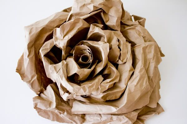 Diy Giant Paper Flower Maybe Gold For Fall Christmas Paper