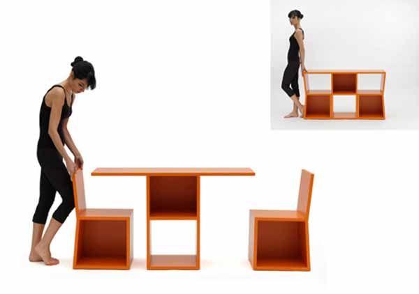 Transformable Furniture Bookcase