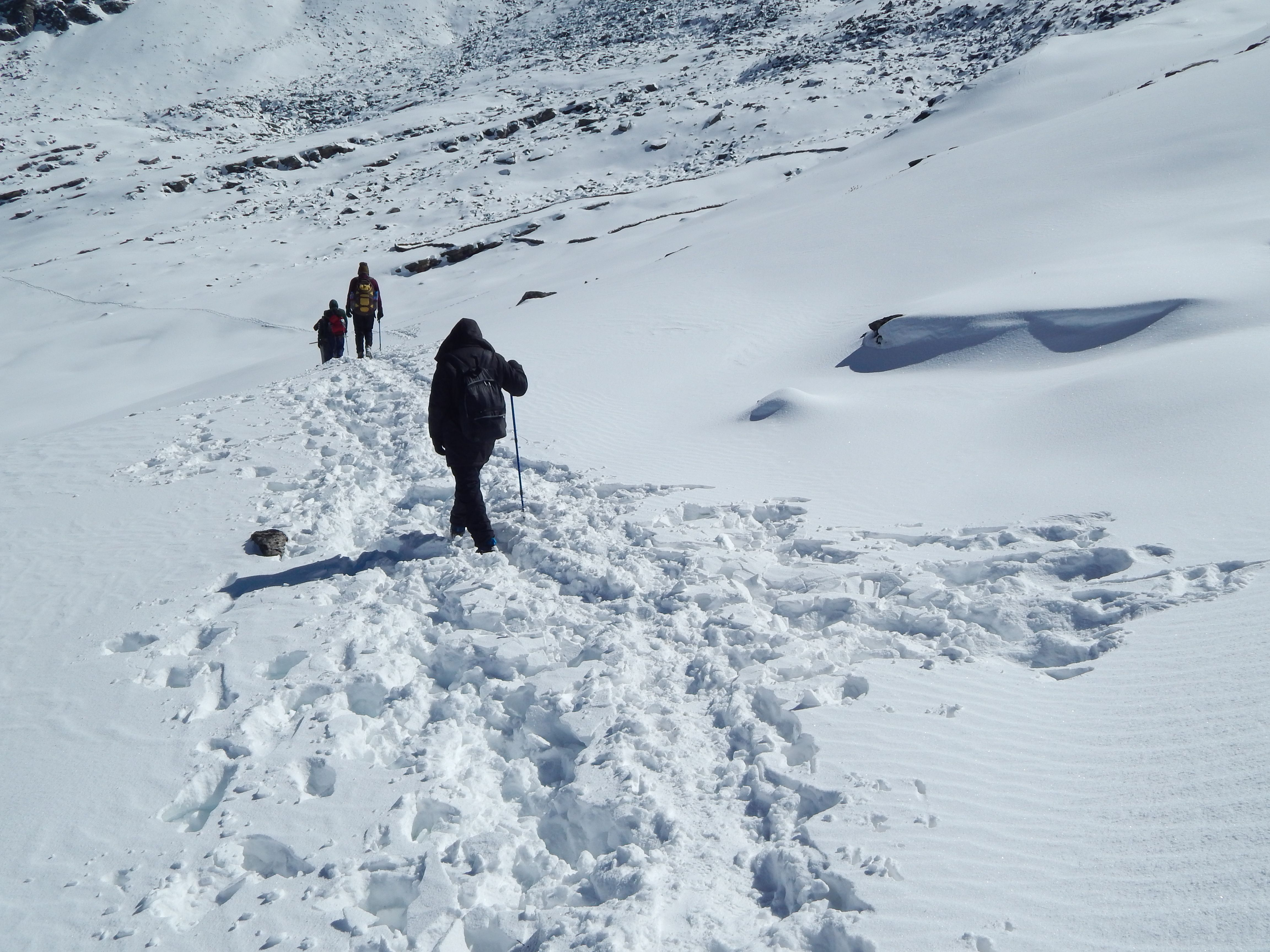 Half way to the last basecampBhagwabhasa Trekking, Day