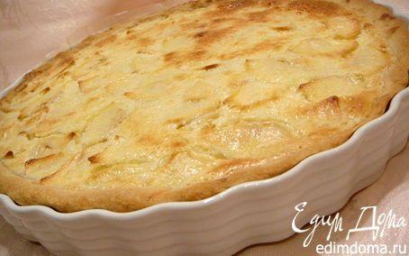 цветаевский яблочный пирог с фото рецепт