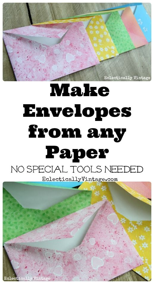 The Forgotten Art Of Letter Writing And Simple Diy Envelopes Diy Envelope Envelope Art Paper Crafts