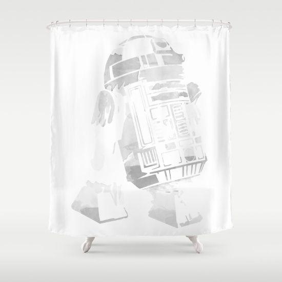 15 star wars shower curtains ideas