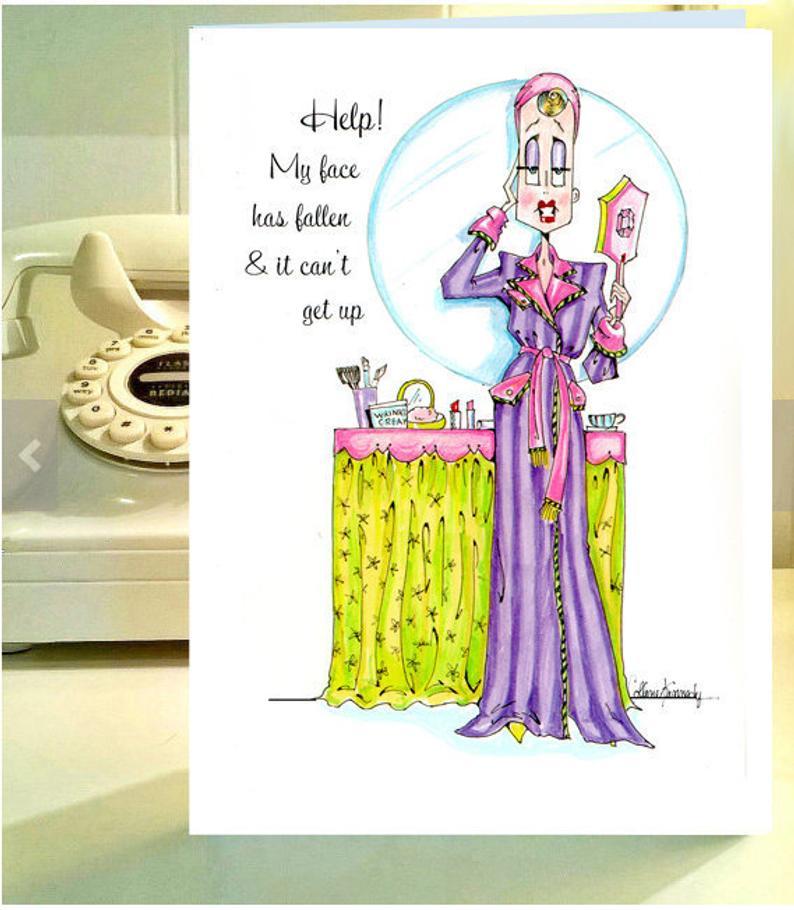 Women humor greeting cards funny women birthday funny