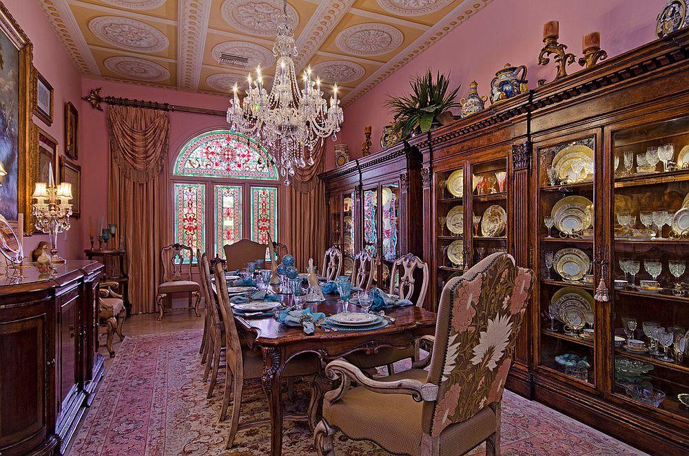 15 salles manger opulentes inspires du style victorien
