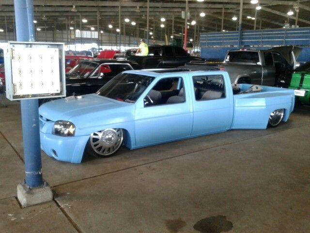 Slammed nissan hard 4door dullay | dream trucks | Pinterest ...